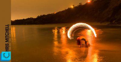 Aleisha Fire Twirl