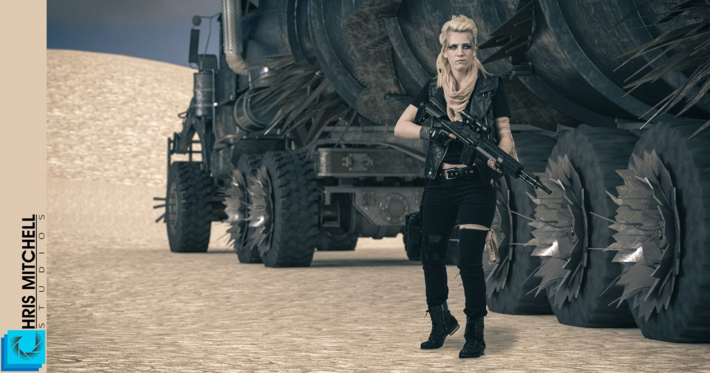 Chris Mitchell Studios-Mad_Max-Belle Cosplay #03 try 02